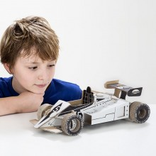 TO DO kartonová 3D skládačka Formule