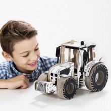TO DO kartonová 3D skládačka Traktor