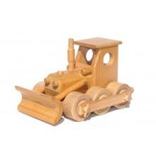 Ceeda Cavity - přírodní dřevěné auto - Buldozér