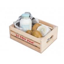 Le Toy Van Bedýnka s vejci a mlékem