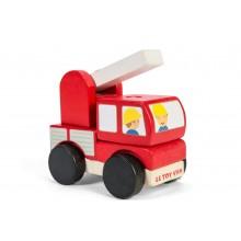 Le Toy Van Skládací hasičské auto