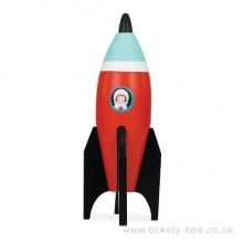 Le Toy Van barevná raketa 1ks červená