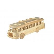 Ceeda Cavity - přírodní dřevěný retro autobus