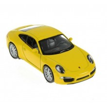 Welly - Porsche 911 (991) Carrera S Coupe 1:34 žluté