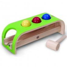 Wonderworld Dřevěná zatloukačka kuličky