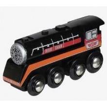 Maxim Dřevěná parní lokomotiva Epocha