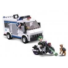 Sluban Policie M38-B0652 Vězeňský vůz a zloděj na útěku