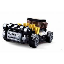 Sluban Power M38-B0801C Natahovací auto Černý Mod Rod