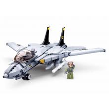 Sluban Model Bricks M38-B0755 Moderní stíhací letoun