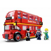Sluban Modely M38-B0708 Double Decker autobus