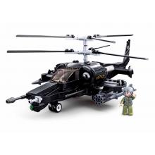 Sluban Model Bricks M38-B0752 Bojový vrtulník