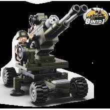 Sluban Army 8into1 M38-B0587E Dělostřelec