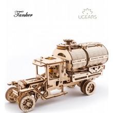 Ugears 3D dřevěné mechanické puzzle Tanker