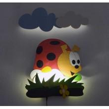 Dětská LED lampička - Beruška