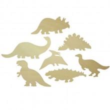 Bigjigs Toys Obkreslovací obrázky dinosaurů