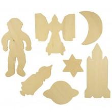 Bigjigs Toys Obkreslovací obrázky vesmíru