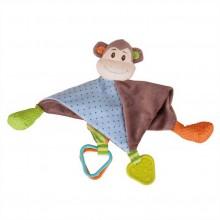 Bigjigs Baby Textilní muchlánek opička Cheeky