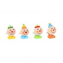 Bigjigs Toys Natahovací skákací klaun 1ks