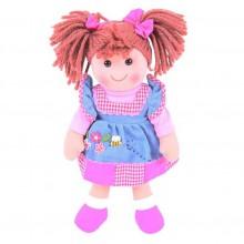 Bigjigs Toys Látková panenka Melody 35 cm