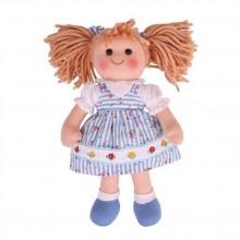 Bigjigs Toys Látková panenka Christina 35 cm