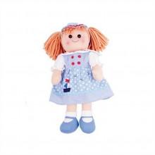 Bigjigs Toys Látková panenka Louise 38 cm