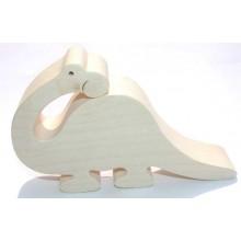 Dřevěná hračka - Brontosaurus