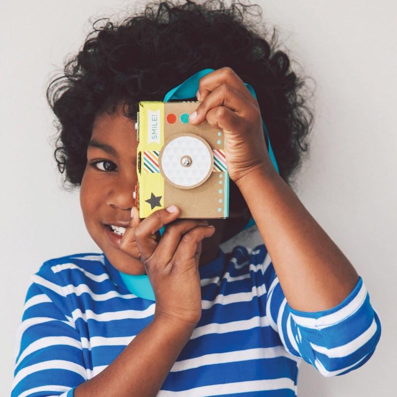 Petitcollage kreativní sada - Dětská kamera