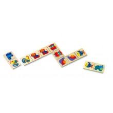 Mertens Dřevěné domino zvířátka