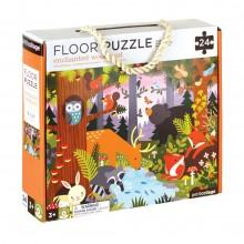 Petitcollage Podlahové puzzle lesní zvířátka