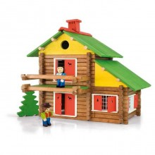 Jeujura Dřevěná stavebnice 175 dílů
