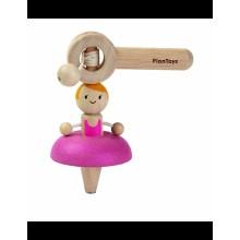 PlanToys Dřevěná káča baletka
