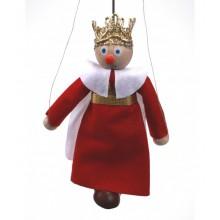 Dřevěná loutka Král Ferdinand
