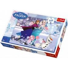 Small Foot Puzzle Disney Frozen 160 dílků