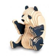 Woodcraft Dřevěné 3D puzzle panda