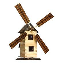 Walachia Dřevěná slepovací stavebnice Větrný mlýn