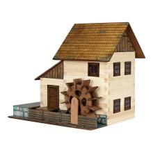 Walachia Dřevěná slepovací stavebnice Vodní mlýn