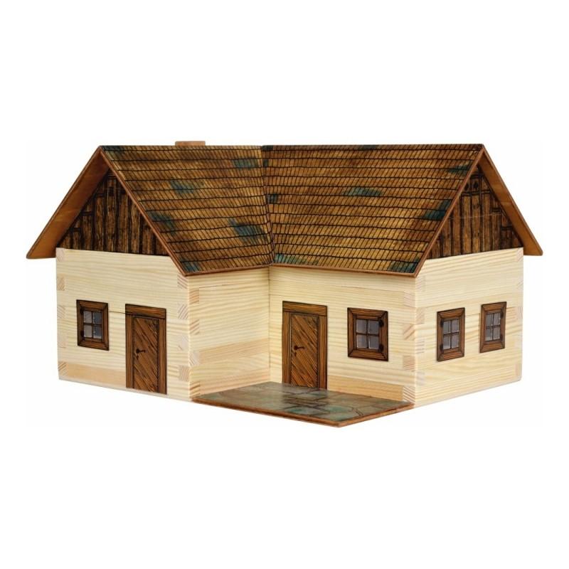 Walachia Dřevěná slepovací stavebnice Samota