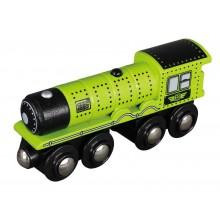 Maxim Dřevěná parní lokomotiva