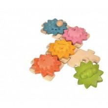 PlanToys Puzzle ozubená kolečka standard