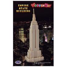 Woodcraft Dřevěné 3D puzzle Empire state building