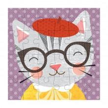 Petitcollage Puzzle kočka