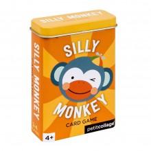 Petitcollage Karty v dóze hloupá opička