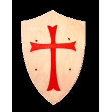 Fauna Dřevěný štít s křížem