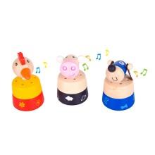 Bigjigs Toys Zvířátka se zvuky 1 ks