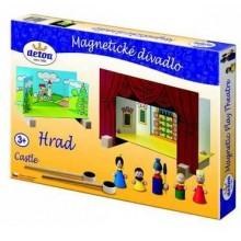 Detoa Dětské divadlo magnetické - Hrad