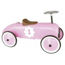 Vilac Kovové jezdítko historické závodní auto růžové