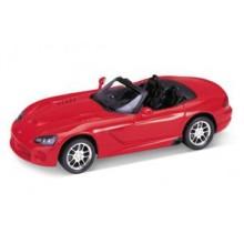 Welly - Dodge Viper SRT-10 (2003) model 1:34 červený