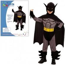Dětský kostým NETOPÝR BATMAN 120 - 130cm ( 5 - 9 let )