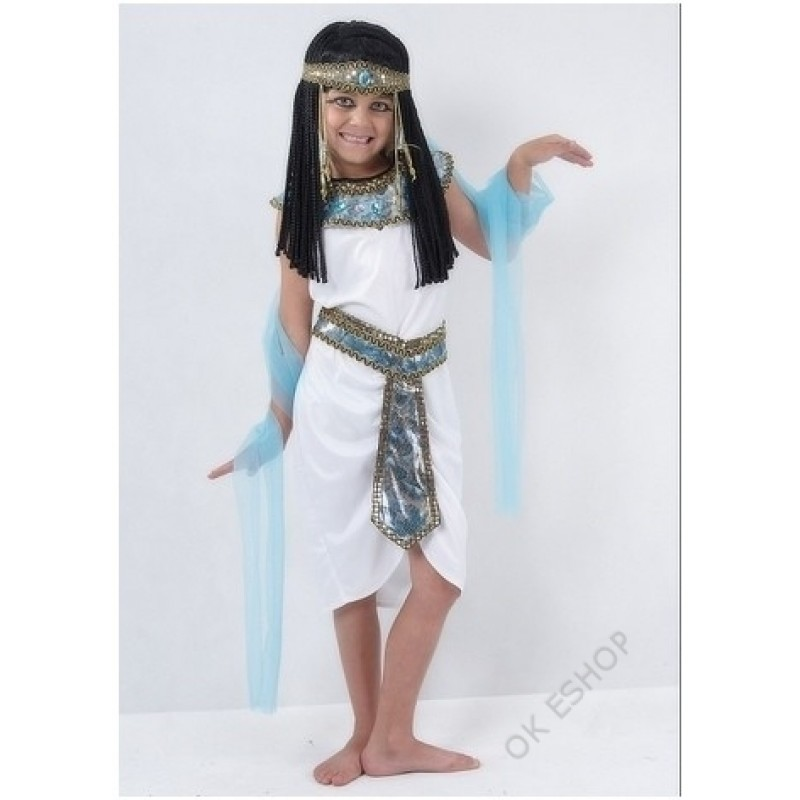 Kostým Kleopatra - Královna Egyptská 110 - 120 cm