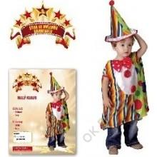 Kostým Malý klaun 92 -104 cm 3 - 4 roky